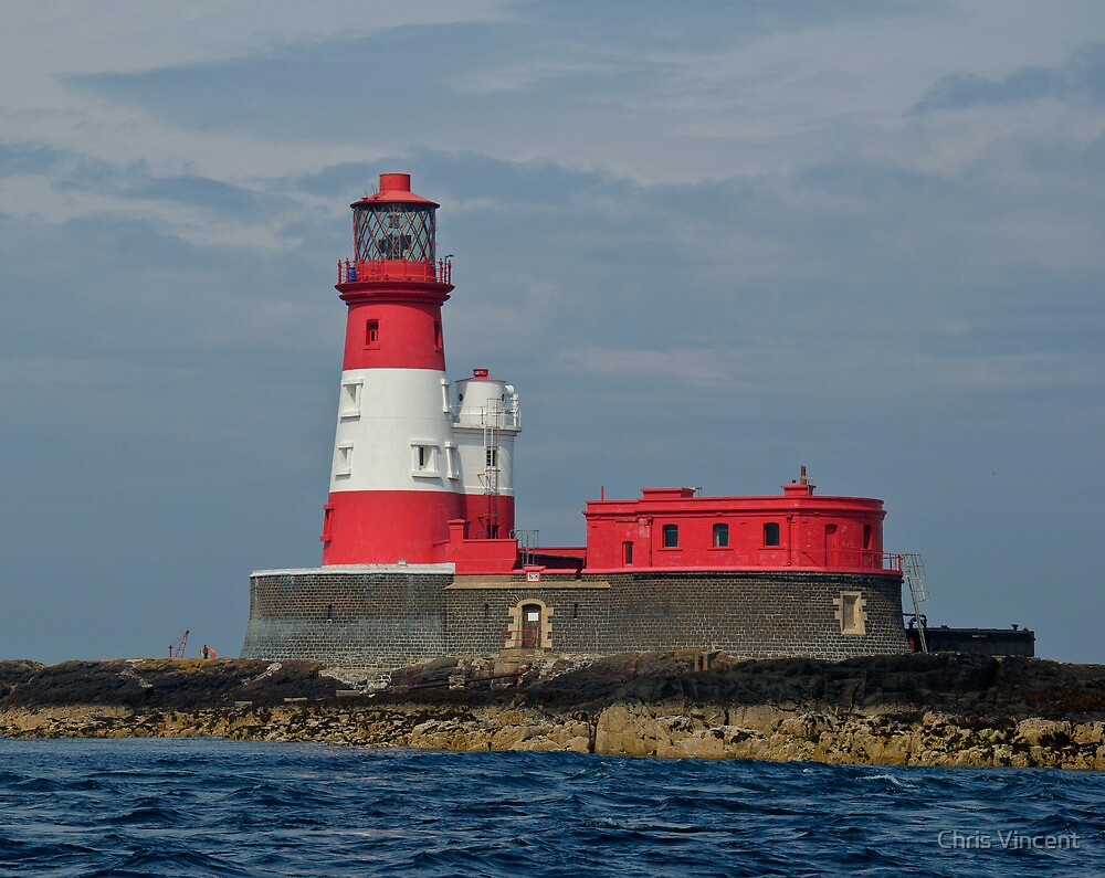 Longstone Lighthouse, Farne Islands by Chris Vincent