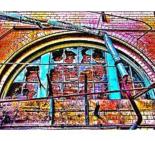 Broken Windows Photographic Print