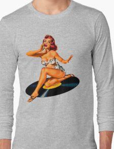Rockabilly Goddess Long Sleeve T-Shirt