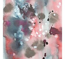 Hand drawn abstract water color background Photographic Print