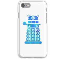 dalek blue version iPhone Case/Skin