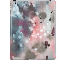 Hand drawn abstract water color background iPad Case/Skin