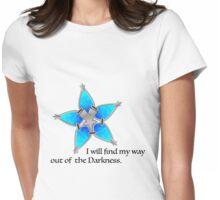 Way Finder - Aqua Womens Fitted T-Shirt