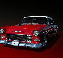 1955 Chevrolet Bel Air Low Rider by TeeMack