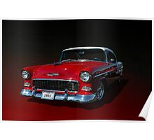 1955 Chevrolet Bel Air Low Rider Poster