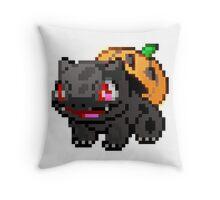 Halloween Bulbasaur Throw Pillow