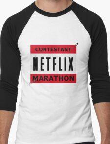 Netflix Marathon Men's Baseball ¾ T-Shirt