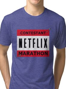Netflix Marathon Tri-blend T-Shirt