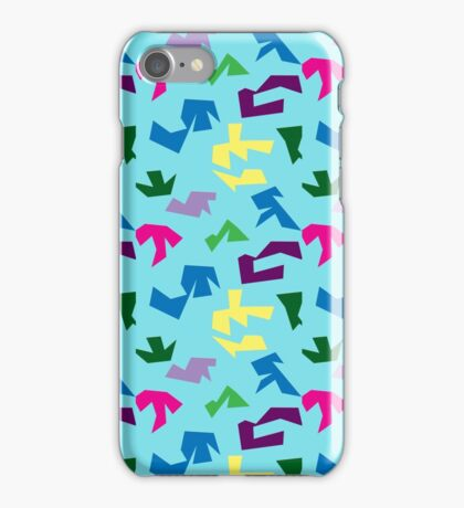 Post modern abstract repeat print iPhone Case/Skin