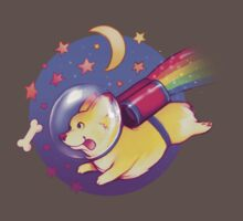 See You Space Corgi One Piece - Short Sleeve