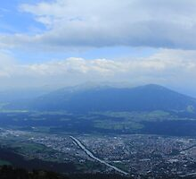 Panorama of the Alps by AndrewWilson94
