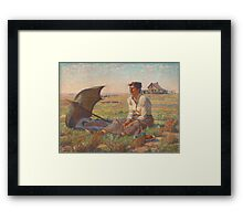 Dakota Woman Framed Print