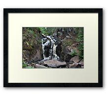 Black River Falls, Michigan Framed Print