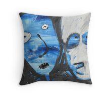 Outside Prison Throw Pillow