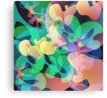 Abstract multi color background. Canvas Print