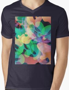 Abstract multi color background. Mens V-Neck T-Shirt