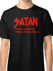 Dead Trend 2011: Vote Satan! Classic T-Shirt