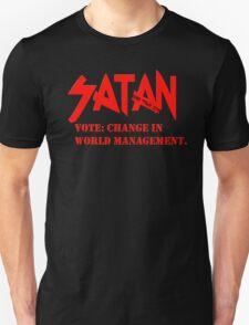 Dead Trend 2011: Vote Satan! T-Shirt