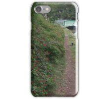 Narrow path, wide beam. iPhone Case/Skin