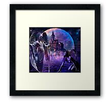 LESSONS AND LEVELS Framed Print