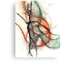 Monique_Sevenans_Abstraction_003 Canvas Print