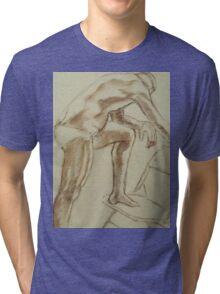 MALE FIGURE Tri-blend T-Shirt