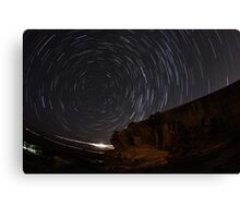 Star Trails at La Perouse Canvas Print