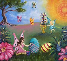 Helping out the Easter Bunny by Dianne  Ilka