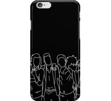 One Direction silhouettes iPhone Case/Skin