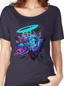 Crystal Wolf  Women's Relaxed Fit T-Shirt