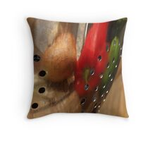 Suppertime Reflection Throw Pillow
