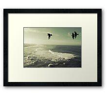 take me there Framed Print