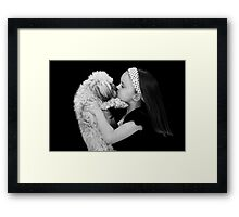 Fancy a kiss? Framed Print