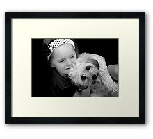 Girls Best Friend! Framed Print