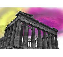 Panthenon - Athens - Surrealism Photographic Print