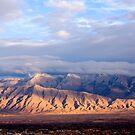 Sandia Mountains by Albuquerque by doorfrontphotos