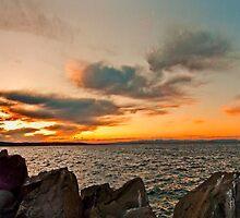 Murrays Sunset by Les Boucher