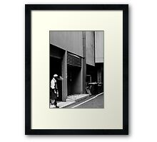 Smoke Break Framed Print