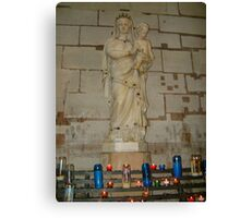 Madonna and Child, France Canvas Print