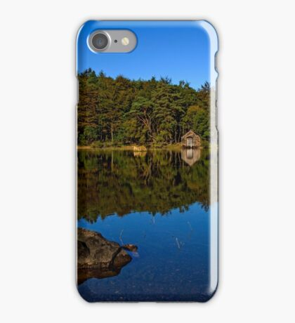 Boat House on Wast Water iPhone Case/Skin