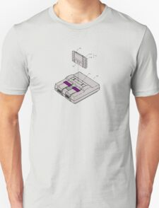 SNES and Cartridge T-Shirt