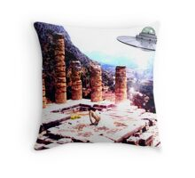 A Gift For The Gods... Throw Pillow