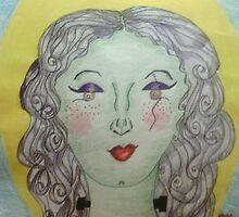 Lady Eve Frankenstein - A self Portrait by callmejulia