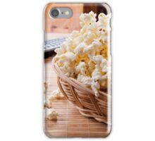 basket full of many crunchy popcorn iPhone Case/Skin