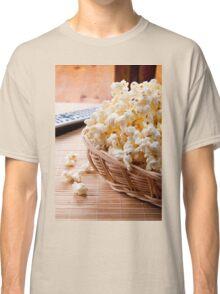 basket full of many crunchy popcorn Classic T-Shirt