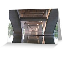 Under Lamar Boulevard Bridge Austin Greeting Card