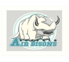 Buffalo Air Bisons Art Print