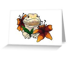 Bearded Dragon 2 Greeting Card