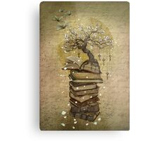 Knowledge is the key Metal Print