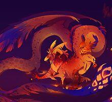 The God of Hallucinogens by TamberElla